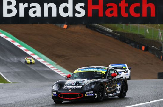Kuwait racer Haytham Qarajouli enjoys another top ten result at Brands Hatch season finale