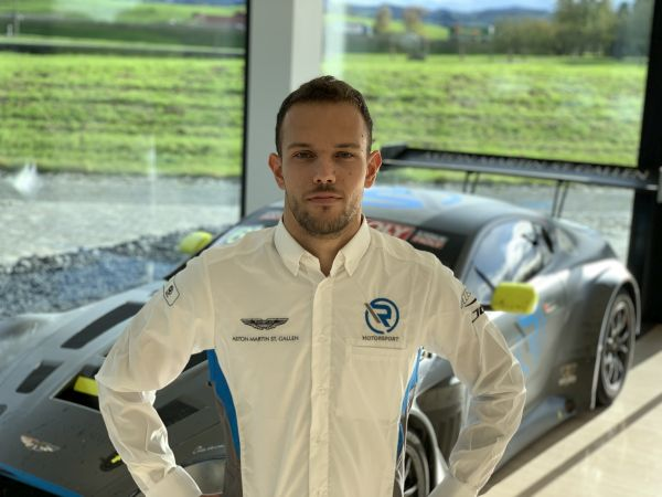 Luca Ghiotto joins R-Motorsport's Aston Martin Vantage GT3 program