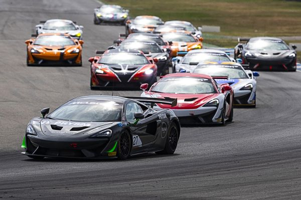 Rookies Iribe and Moss join Ojjeh in Winners Circle as Pure McLaren GT Series visits Hockenheim