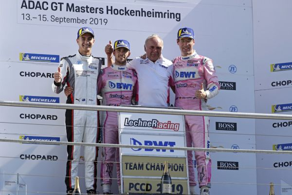 Julien Andlauer wins turbulent race at Hockenheimring