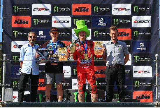 Van de Moosdijk and Guadagnini take their EMX Championship !