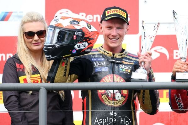 British Superbike Championship: Taylor Mackenzie on the Superstock podium once again