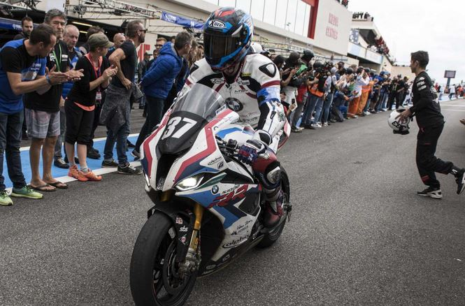 UPDATE: BMW Motorrad World Endurance Team retroactively in third place at the Bol d'Or.