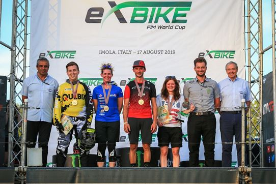 First ever FIM E-XBike World Cup in Imola