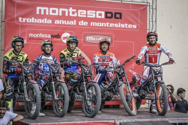 Repsol Honda Team, once again, in the limelight at the 19th Montesada