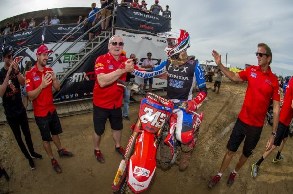 Team HRC eagerly anticipates Italian GP as championship nears