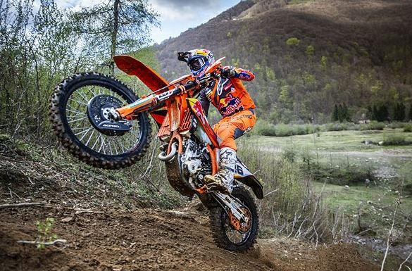 Red Bull KTM Factory Racing set for Hawkstone Park Cross-Country
