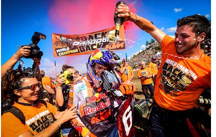Coldenhoff and Vialle win the MXGP of Sweden while Prado takes the 2019 MX2 title