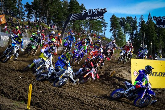 TV Schedule for MXGP of Sweden, Uddevalla