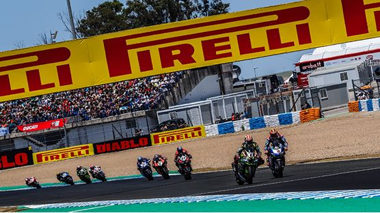Pirelli named Event Main Sponsor for the WorldSBK French Round