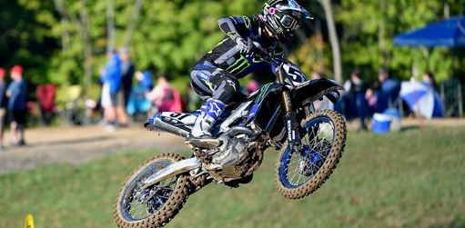 Monster Energy Yamaha Factory Racing Team's Justin Barcia Scores Best Finish of Season at Pro Motocross Finale