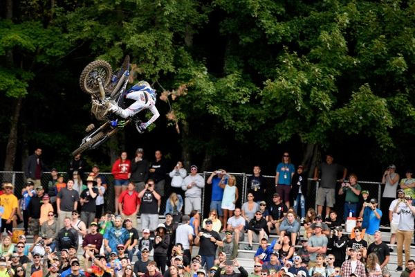 Monster Energy Yamaha Factory Racing Team's Justin Barcia Claims Best Moto Finish of the Season at Unadilla
