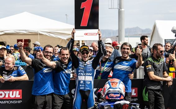 Cluzel Victorious in Argentine Supersport Thriller
