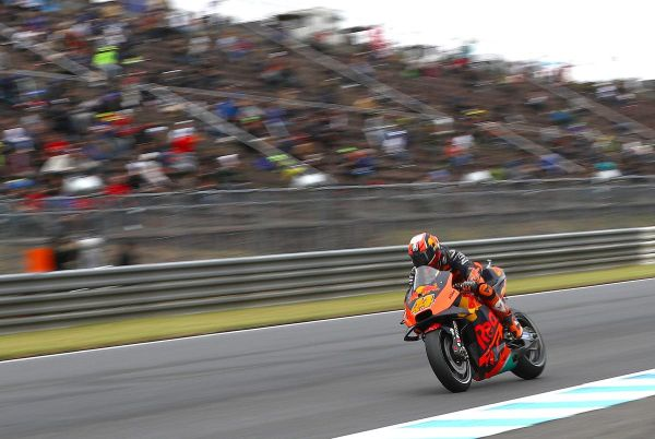 Fifth row of the grid for Espargaro in weather-hit Motegi qualification