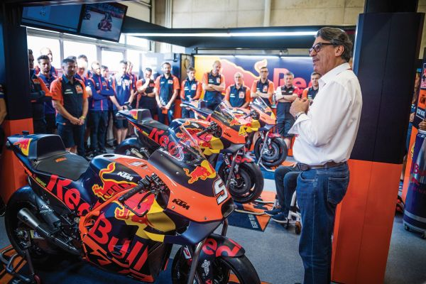KTM MotoGP's structure from 2020 renewed and strong Husqvarna return