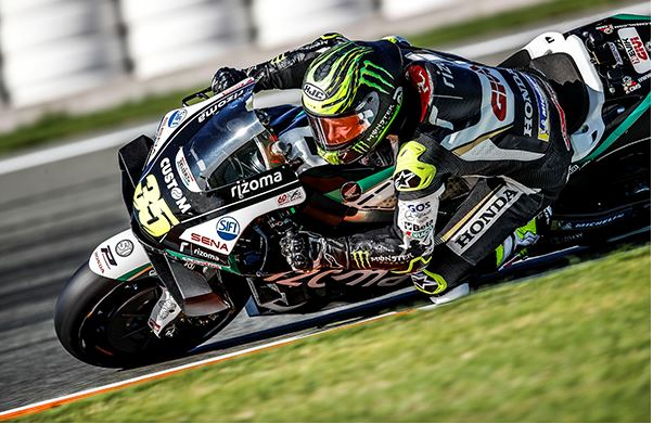Early end for Crutchlow in Valencia