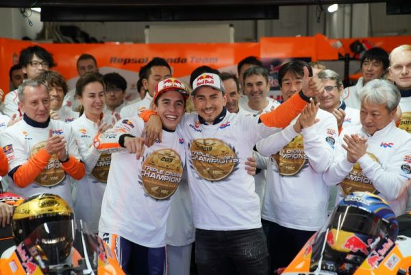 Perfect end to 2019 for Triple Crown winners Repsol Honda Team as Lorenzo says good bye- amended