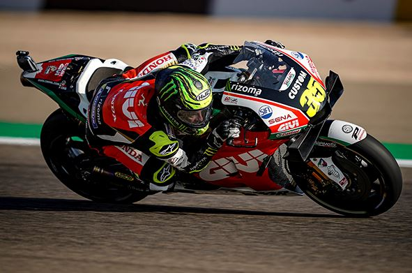 Crutchlow well placed after day one in Aragon