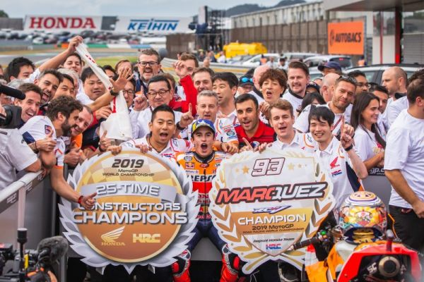 Rider, team and constructor standings ahead of Valencia MotoGP