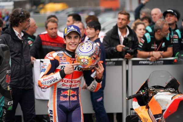 First Motegi pole for Marquez with 90th pole overall