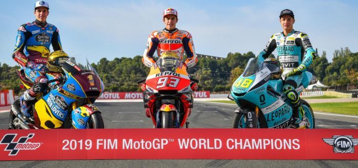 MotoGP World Standing 2019 - Marc Marquez still crowned Champion