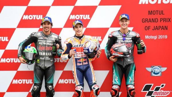 MotoGP Japan GP Qualifying classification - Marc Marquez secures Motegi pole