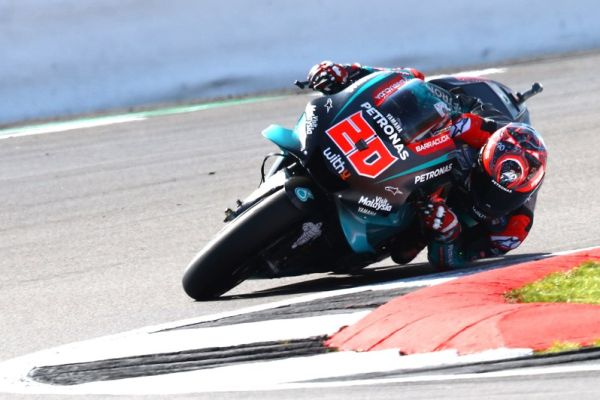 Superb start at Silverstone for Quartararo and Morbidelli
