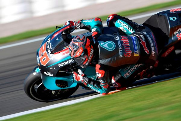 Quartararo leads opening day of Valencian GP action