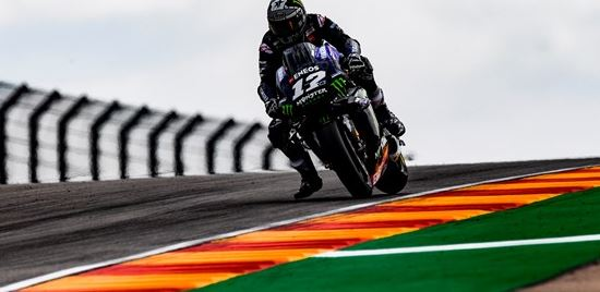 Hard Work Pays Off for Monster Energy Yamaha in First Aragon FP Sessions