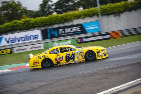 Day and Soerensen fastest in the wet Nascar Euro Series practice at Zolder