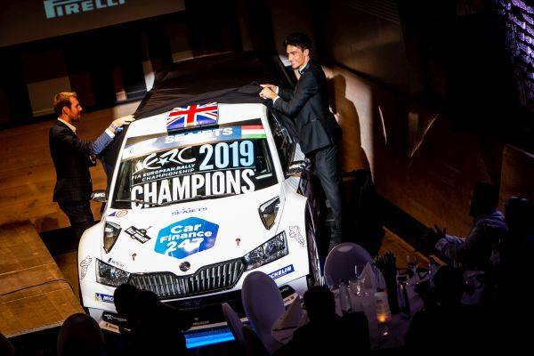 ERC champions* celebrated during spectacular Budapest ceremony