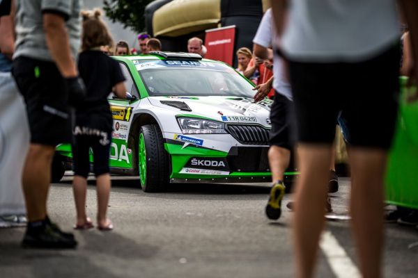 Barum Czech Rally Zlin stage 12 classification, retirements and quotes