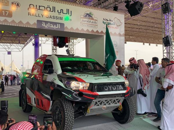 Rally Qassim standings after Super Special Stage