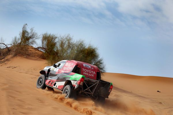 Rally Qassim standings after stage 2 -cars, bikes and quads