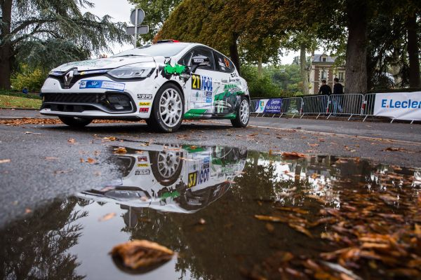 Clio R3T Trophy France at the Rallye du Var- The duel for the title