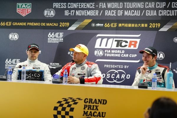 WTCR Macau Second Qualifying press conference