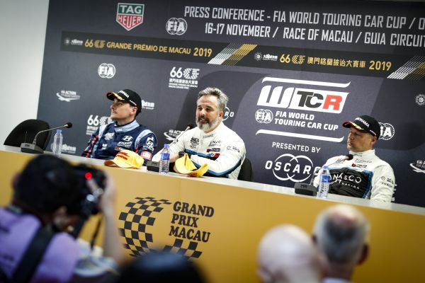 WTCR Macau First Qualifying press conference