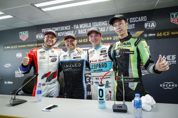 WTCR Macau Race 3 press conference- Priaulx, Huff, Vernay and Lo quotes