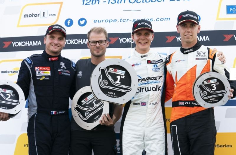 Quotes from the TCR Europe race2 podium finishers in Monza