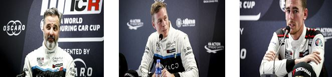 WTCR Macau Race 2 press conference -Muller,Björk, Ceccon quotes