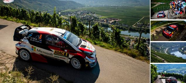 Tänak holds off dogged Neuville for Rallye Deutschland Friday lead