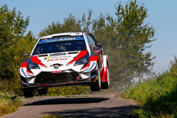 Tänak with a narrow lead for TOYOTA GAZOO Racing in Germany