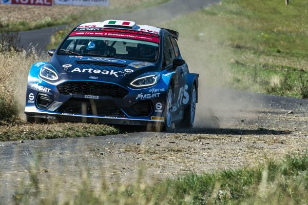 Camilli secures second in WRC 2 Pro