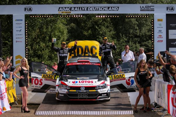 Kajetanowicz and Szczepaniak take the podium on Rallye Deutschland 2019!