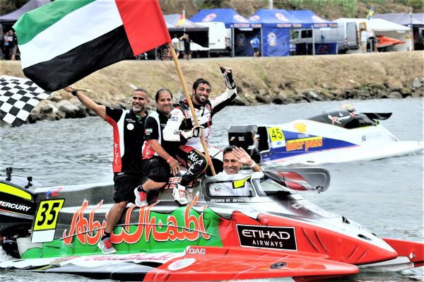 Cappellini eyes more World titles for Team Abu Dhabi after quadruple triumph