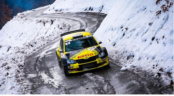 Grégoire Munster claims victory at the Rallye Hivernal du Dévoluy