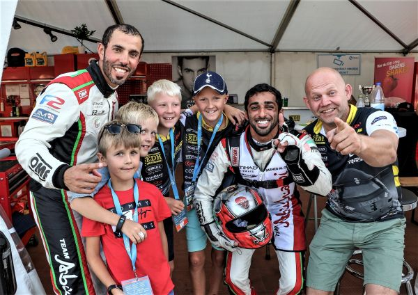Race Legend back after breaking neck sees more World Titles on the way to Abu Dhabi