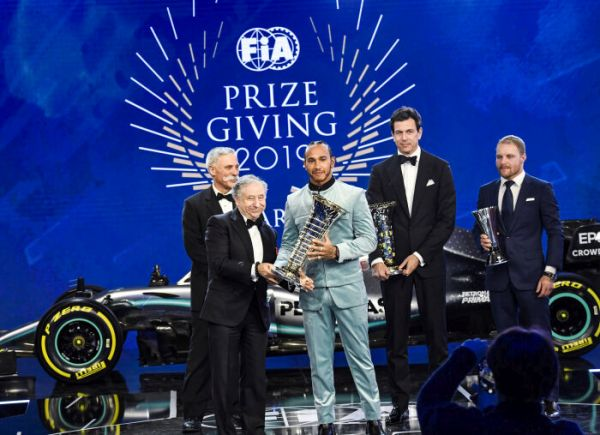 Mercedes-AMG Petronas Motorsport and Lewis Hamilton Officially Crowned 2019 FIA Formula One World Champions