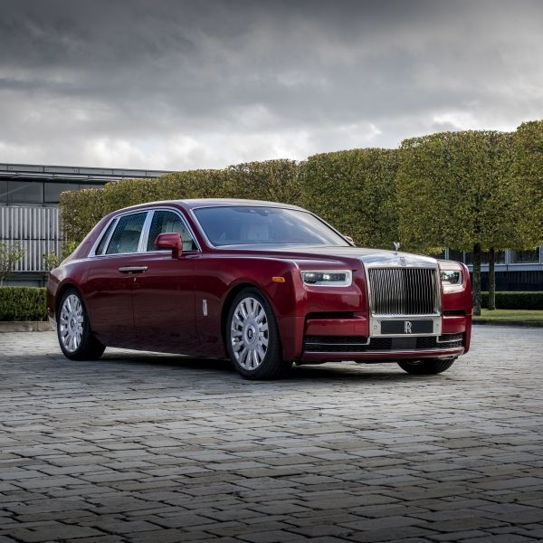 Rolls-Royce reveals Red Phantom commission with artist Mickalene Thomas