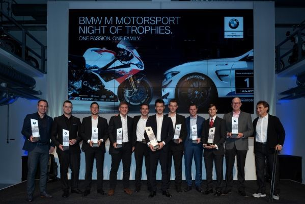 BMW Sports Trophy presentation in Munich: Gabriele Piana and Hofor Racing win the Drivers' and Team Competitions.